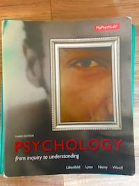Psychology 3rd edition book Leon, 25123