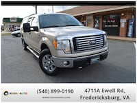 2010 Ford F-150 XLT 4x4 SuperCrew 157-in Fredericksburg