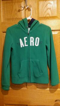 green and white zip-up hoodie Chicago, 60608