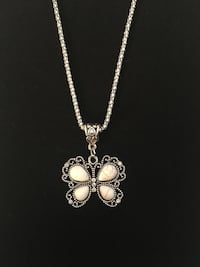Butterfly necklace-3 colors to choose from