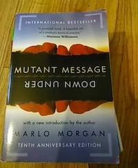 Mutant Message Down Under by Marlo Morgan Snellville, 30039
