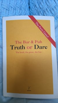 The bar and pub truth or dare book Mont-Royal, H4P