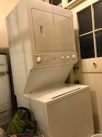 white stackable washer and dryer Pasadena, 91106