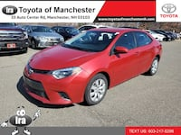 2016 Toyota Corolla LE **RED HOT DEAL!** MANCHESTER