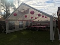 20x30 canopy $100 a day or $150 for two days. Bakersfield, 93311