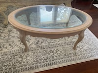 oval white wooden coffee table Deland, 32724