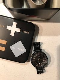 Almost Brand new Fossil Watch - Black  Abbotsford, V2T 7Y3