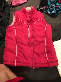 Pink zippered bubble vest size 6/6x Strasburg, 22657