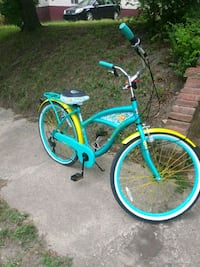 blue and green beach cruiser bike Charlotte, 28202