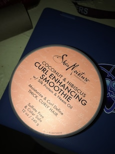 Shea Moisture coconut and hibiscus curl enhancing smoothi