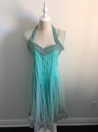 WOMENS LIGHT GREEN EMERALD DRESS Markham