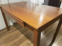rectangular brown wooden study/dining table Vaughan, L6A 4C4