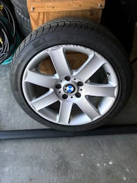 gray BMW 5-spoke wheel with tire Joint Base Lewis-McChord, 98433
