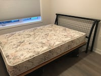 white and brown floral mattress Toronto, M8V 1Y8