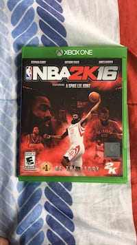 Nba 2k16 xbox one game  Lorton, 22079