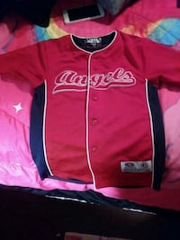 pink and black Toronto Blue Jays jersey shirt Hemet, 92543