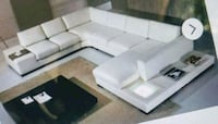 Delux island all white sectional  Lanham, 20706
