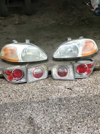 Honda Civic Headlights and Taillights for 96-00 2dr West Des Moines, 50266