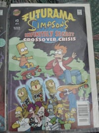 ama Simpsons infinity secret cross over cris Abbotsford, V2T 6M6