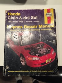 Honda repair manual