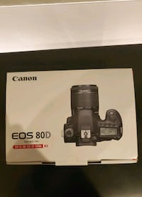 CANON 80D WITH 18MM-55MM LENS KIT