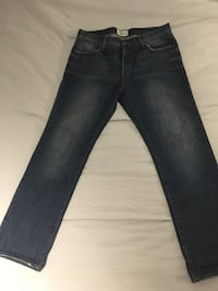 blue denim straight-cut jeans Sterling, 20164