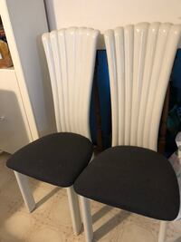 6 wooden heavy dining chair $10 each all for $60. Lampshades $15 for both Edmonton, T5T 5X2