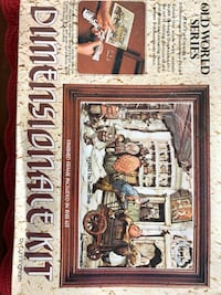 Shadow box dimensional art kit. Great for stay home project!