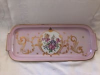 Hand painted Limoges French porcelain serving platter  Toronto, M2R 3N1