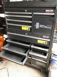 black and gray tool chest Houston, 77083