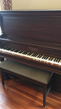 Upright piano - free but must use professional movers Boston, 02131