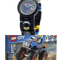 LEGO city & watch both in brand new condition  Vancouver, V5R 2K1
