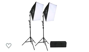 2 photography light boxes