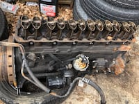 Jeep XJ 4.0 Motor Long Block (thrown rod) with hole in the crank case