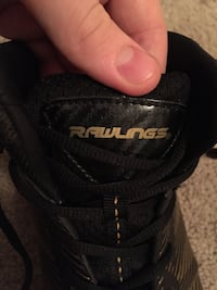 Size 9 Gold Men's Cleats For Football (RAWLINGS) Killeen, 76549