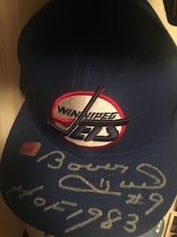 Bobby Hull Signed/Autographed Winnipeg Jets Hat