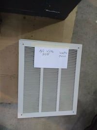 Heater, wall mount Cold Spring, 56320