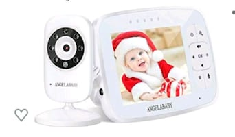 """Baby Monitor, 3.5"""" HD, Two-way Talk, Temperature++ NEW ½ PRICE"""