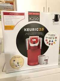 two black and red Keurig coffeemaker boxes Miami, 33175