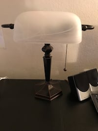 Black and white table lamp Mc Lean, 22102