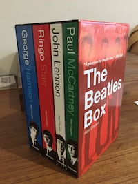The Beatles Box. Gift Set with 4 Biographies Hamilton, L8L 2N8