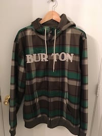 Burton Hooded Full-zip Sweatshirt Men's Large Foxborough, 02035