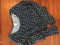 Forever 21 Floral Cropped Longsleeve  Toronto, M8W 3J8