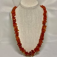 Natural Baltic Amber Beaded Necklace