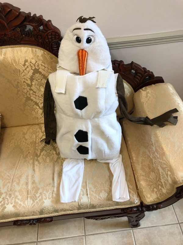 Olaf Costume (5-6yrs old)