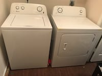 white washer and dryer set Euless, 76039