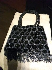 black and white leather tote bag Fremont, 94536