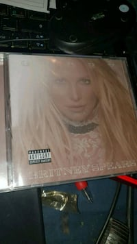 Uåpnet Britney Spears Glory cd