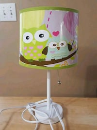 Owl lamp. Perfect condition. 3115 km