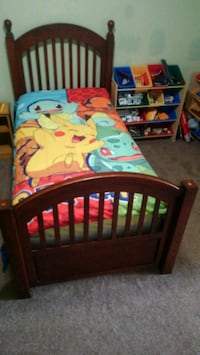 Child's bed- box spring and mattress included Monroe, 10950